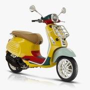 Mẫu xe Vespa Primavera phiên bản giới hạn hợp tác cùng Sean Wotherspoon