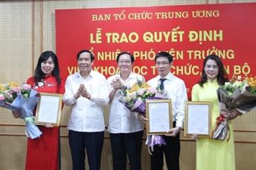 Ba ứng viên trúng tuyển vị trí vụ phó tại Ban Tổ chức Trung ương
