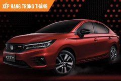 Top 10 ôtô bán chạy tháng 6: Honda City bất ngờ dẫn đầu, VinFast Fadil đứng thứ 4