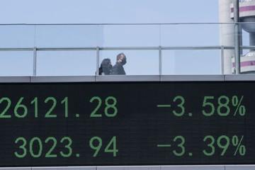 Chứng khoán Trung Quốc bị khối ngoại bán ròng kỷ lục