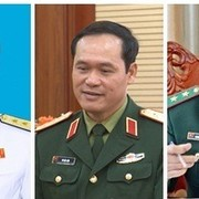 Bộ Quốc phòng có 3 Thứ trưởng mới