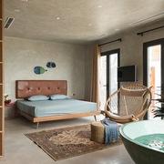 Ngôi nhà 5 tầng với mọi ngóc ngách đều có không khí bãi biển vịnh Hạ Long