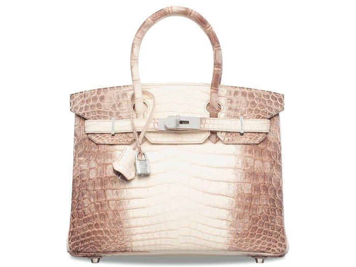 5 chiếc túi xách đắt nhất từng được bán đấu giá bởi Christie's