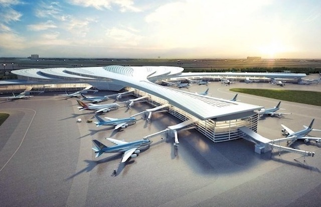 Phối cảnh sân bay Long Thành. Nguồn: ACV.