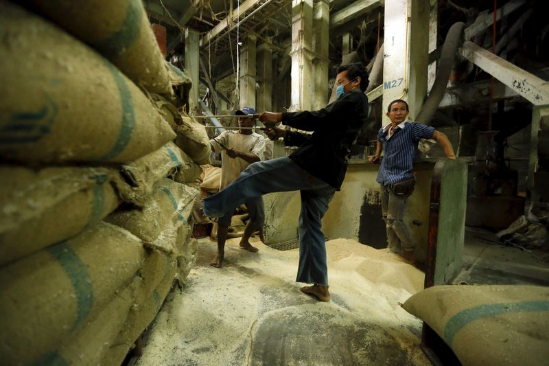 Giá gạo xuất khẩu của Việt Nam lên cao nhất một tháng