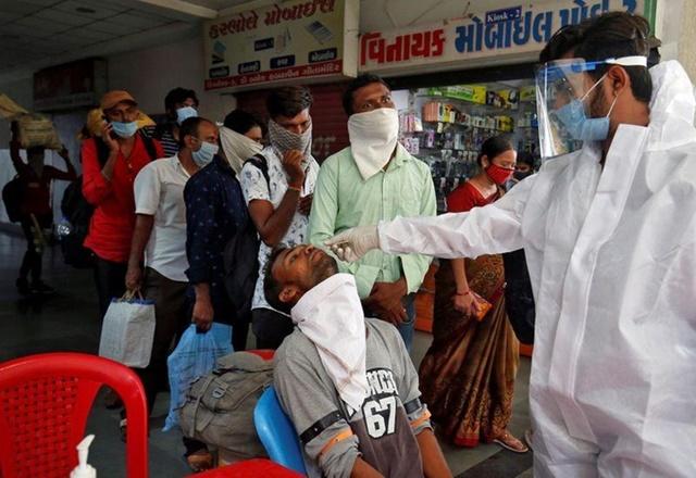 Ca nCoV ở Ấn Độ vượt một triệu