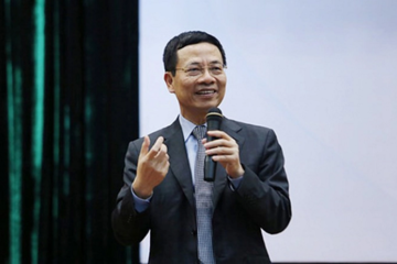 Bộ trưởng Nguyễn Mạnh Hùng muốn Bến Tre trở thành thung lũng Silicon của Việt Nam