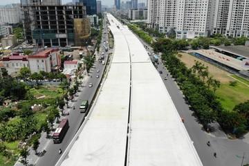 Đường vành đai 3 Hà Nội hơn 5.300 tỷ đồng sắp thông xe