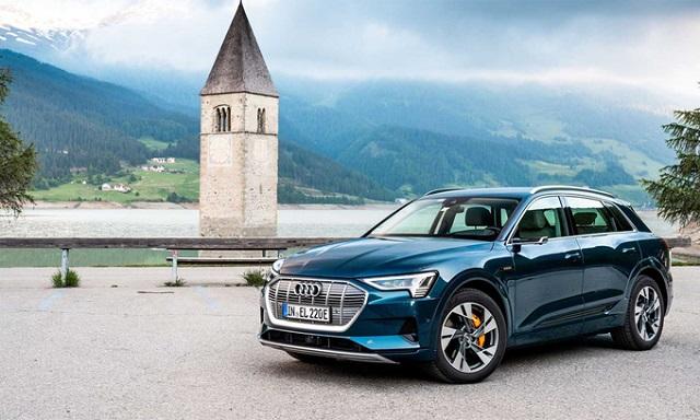 Audi e-tron - xe SUV chạy điện ăn khách nhất châu Âu