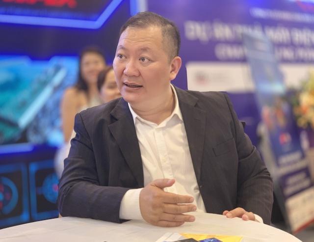 ông Hoàng Giang, Chủ tịch kiêm Tổng Giám đốc Công ty TNHH MTV PE Việt Nam.