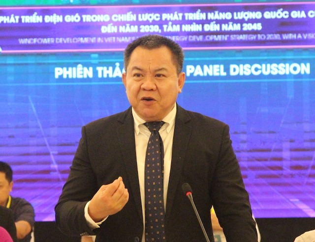 ông Nguyễn Tâm Tiến, Tổng Giám đốc Tập đoàn Trung Nam.