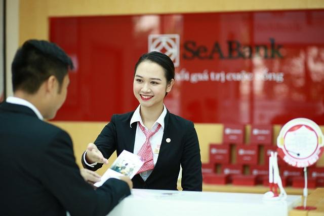 Lãi SeABank tăng 64% trong 6 tháng