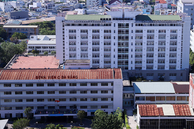 Bệnh viện C Đà Nẵng, nơi bệnh nhân thăm khám và phát hiện dương tính lần đầu với nCoV. Ảnh: Nguyễn Đông..