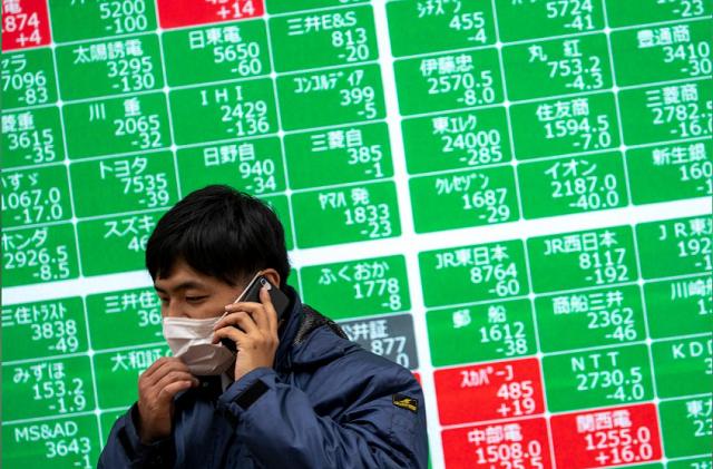 Cổ phiếu Trung Quốc bị bán tháo, chứng khoán châu Á giảm