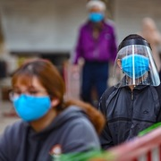 Hà Nội yêu cầu người dân đeo khẩu trang nơi công cộng