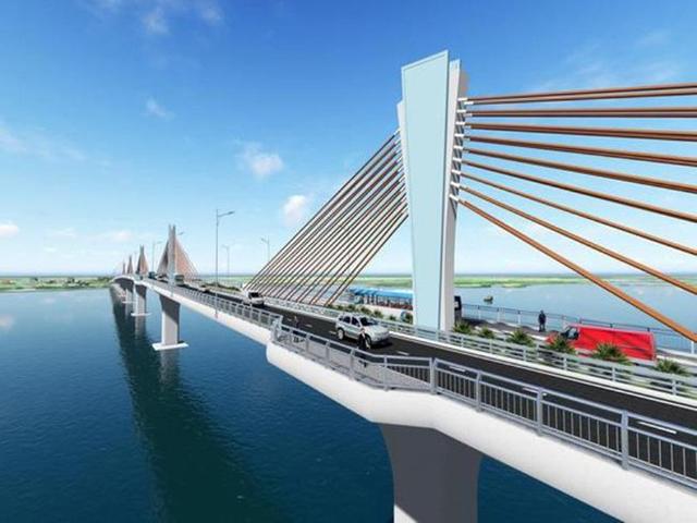 Cầu Đại Ngãi trên Quốc lộ 60 nối Sóc Trăng với Trà Vinh sẽ được đầu tư bằng nguồn vốn ODA Nhật Bản.