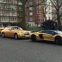 """<p class=""""Normal""""> Bộ sưu tập xe của Turki bin Abdullah có một chiếc Mercedes-Benz G63 AMG 6X6 và Lamborghini Aventador SuperVeloce, cả hai đều có giá500.000 USD. Ảnh:<em>SCMP.</em></p>"""