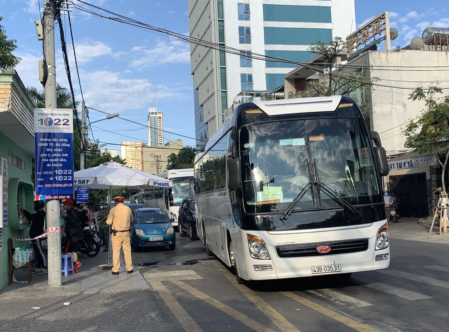 Đà Nẵng: Dừng toàn bộ hoạt động vận chuyển hành khách trong thành phố
