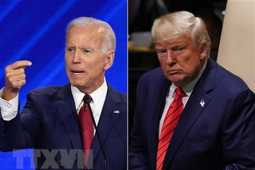 Joe Biden tiếp tục chiếm ưu thế so với Tổng thống Donald Trump