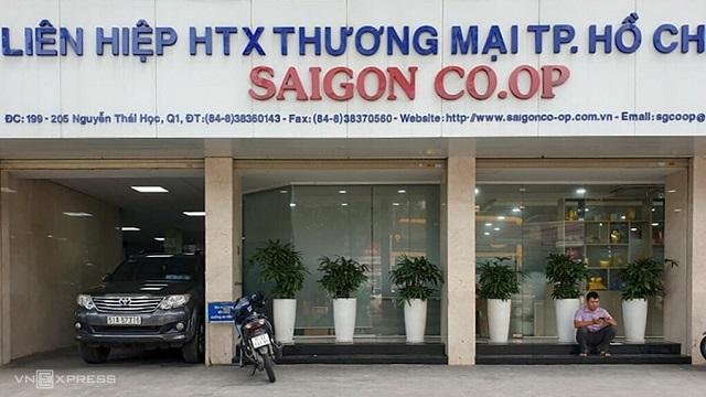 Trụ sở của Saigon Co.op chiều 28/7. Ảnh: Phương Đông.
