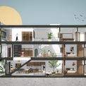 <p> Mô phỏng thiết kế nhà.</p>
