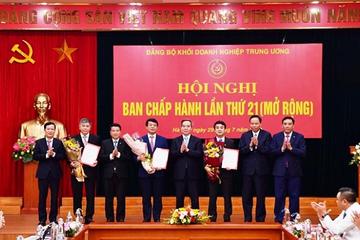 Chủ tịch Vietcombank và Vicem vào Ban Thường vụ Đảng ủy Khối doanh nghiệp Trung ương