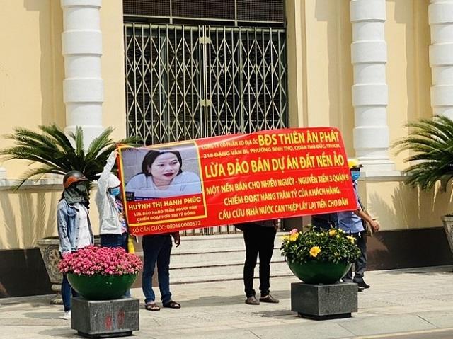 Bắt Tổng giám đốc Công ty Bất động sản Thiên An Phát vì bán dự án 'ma'