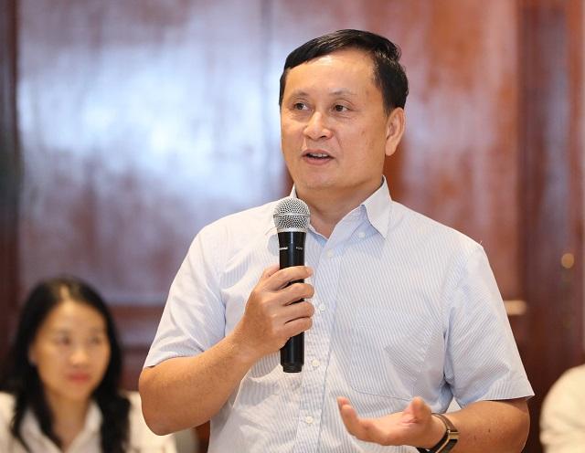 Ông Nguyễn Sơn, Chủ tịch HĐQT VSD. Ảnh: SJCV