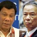 <p> <strong>Từng bị cáo buộc trốn thuế</strong>: Con đường sự nghiệp của Lucio Tan không phải lúc nào cũng trải hoa hồng. Năm 2017, Tổng thống Philippines Rodrigo Duterte cáo buộc ông nợ tiền thuế khoảng 600 triệu USD. Sau khi tỷ phú này được chứng minh không trốn thuế, Tổng thống Duterte tuyên bố sẽ không đề cập đến vấn đề này nữa. Ảnh: <em>Manila Times</em>.</p>