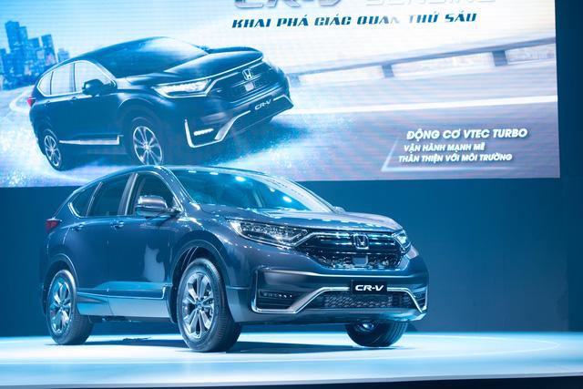 Honda CR-V chính thức ra mắt thị trường Việt Nam, giá từ 998 triệu đồng - Ảnh 2.