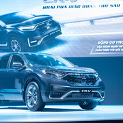 Honda CR-V chính thức ra mắt thị trường Việt Nam, giá từ 998 triệu đồng