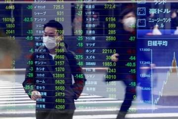 Kinh tế Mỹ suy giảm kỷ lục, chứng khoán châu Á trái chiều