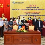 Việt Nam nhận viện trợ không hoàn lại 6,2 triệu USD chống Covid-19