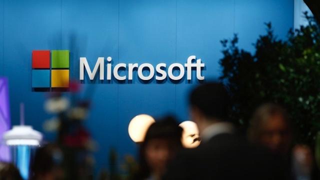 Microsoft là một trong những công ty đang đàm phán mua lại bộ phận hoạt động của TikTok tại Mỹ. Ảnh: Bloomberg.
