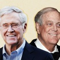 """<p class=""""Normal""""> <strong>3. Koch</strong></p> <p class=""""Normal""""> Tổng tài sản: 109,7 tỷ USD</p> <p class=""""Normal""""> Công ty: Koch Industries</p> <p class=""""Normal""""> Trụ sở: Mỹ</p> <p class=""""Normal""""> Anh em Frederick, Charles, David và William thừa kế công ty lọc dầu của người cha - Fred. Cuộc chiến giành quyền kiểm soát công ty đầu thập niên 80 đã buộc Frederick và William rời bỏ công ty. Charles và David ở lại gây dựng doanh nghiệp thành Koch Industries - một đế chế đa ngành với doanh thu hàng năm hơn 115 tỷ USD. Anh em nhà Koch quản lý tài sản của mình thông qua một công ty gia đình - 1888 Management. (Ảnh: <em>CNN</em>).</p>"""