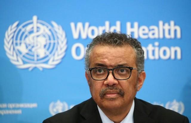 Tổng giám đốc Tổ chức Y tế Thế giới (WHO) Tedros Adhanam Ghebreyesus