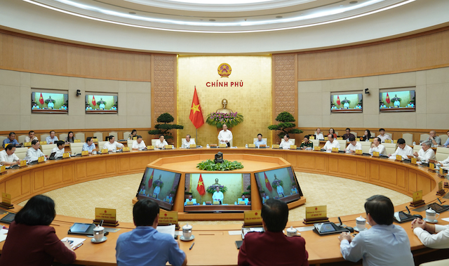 Thủ tướng chủ trì phiên họp Chính phủ thường kỳ tháng 7