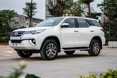 Toyota triệu hồi 721 xe Fortuner và Innova tại Việt Nam