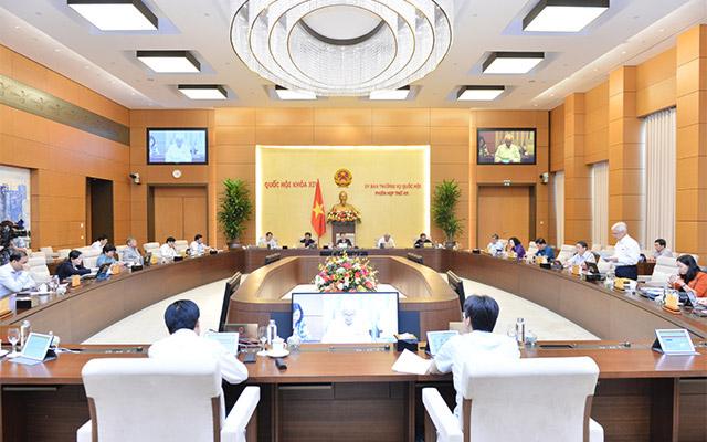 Không chất vấn tại phiên họp thứ 47 của Ủy ban Thường vụ Quốc hội