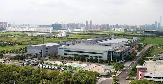 Nhà máy Samsung tại Tô Châu, Trung Quốc. Ảnh: Samsung.