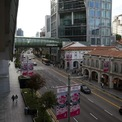Đường Orchard - thánh địa mua sắm Singapore - hoang lạnh vì dịch bệnh