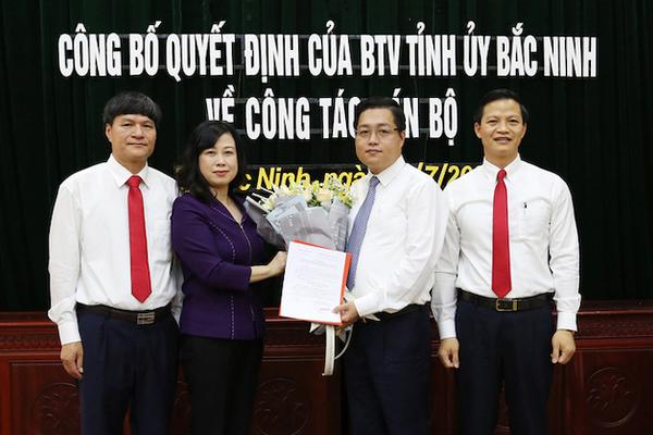 Điều chuyển Bí thư Thành ủy TP Bắc Ninh Nguyễn Nhân Chinh