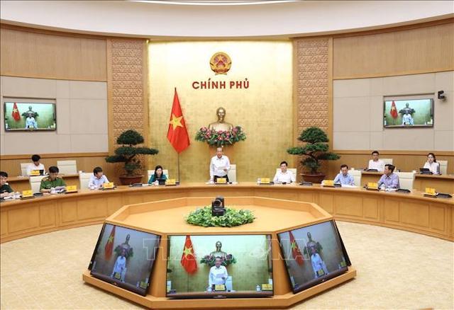 Phó Thủ tướng Thường trực Trương Hòa Bình chủ trì hội nghị.
