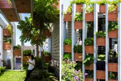 Resort trong nhà 240 m2 ở Đà Nẵng: Hồ bơi 9 m, cây xanh bát ngát