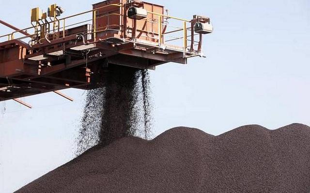 Nhập khẩu quặng sắt Trung Quốc tăng kỷ lục