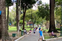 TP HCM tạm dừng tất cả các hoạt động trong công viên, mảng xanh
