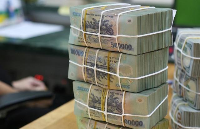 Các ngân hàng đang có thanh khoản tiền gửi lớn trong khi cho vay kém. Ảnh: L.H
