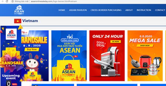 Trang web chính thức dành riêng cho ngày mua sắm trực tuyến ASEAN.