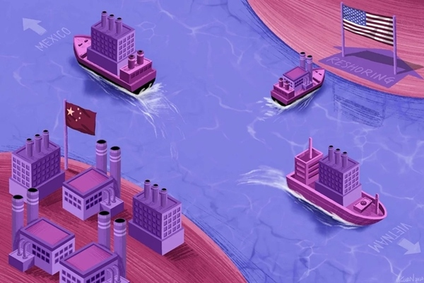 Thế khó của doanh nghiệp Mỹ muốn rời Trung Quốc về quê nhà