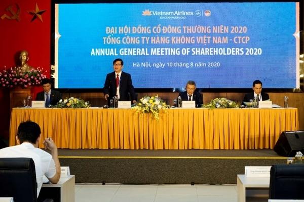 Họp ĐHĐCĐ Vietnam Airlines: Trình phương án cuối cùng vay 4.000 tỷ và tăng vốn 8.000 tỷ đồng